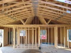 Roof ceiling family home investments for Pre manufactured roof trusses
